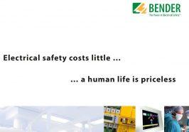 Hệ thống điện cách ly an toàn cho phòng mổ, ICU – En