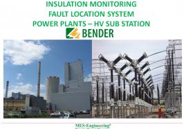 Giám sát điện trở cách điện và tìm kiếm sự cố chạm đất cho hệ thống 220VDC nhà máy điện, trạm biến áp 500kV, 220kV, 110kV.