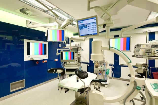 Eingriffsraum und OP in der Asklepios Klinik Altona
