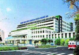Dự án tại Bệnh viện Hữu nghị Đa khoa Nghệ An (Cotech Nghệ An)