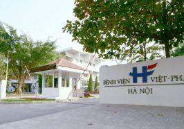Dự án tại Bệnh viện Việt Pháp Hà Nội