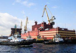 Nhà máy điện hạt nhân nổi của Nga